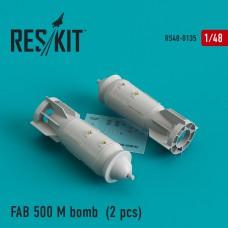 ФАБ 500 M бомба (2 штуки) (1/48)
