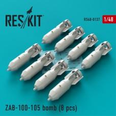 ЗАБ-100-105 бомба (8 штук) (1/48)