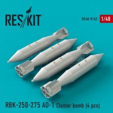 РБК-250-275 АО-1 кассетная бомба (4 штуки) (1/48)