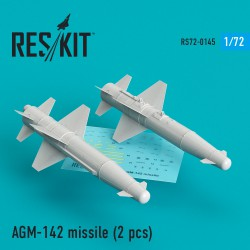 AGM-142 missile (2 штуки) (1/72)