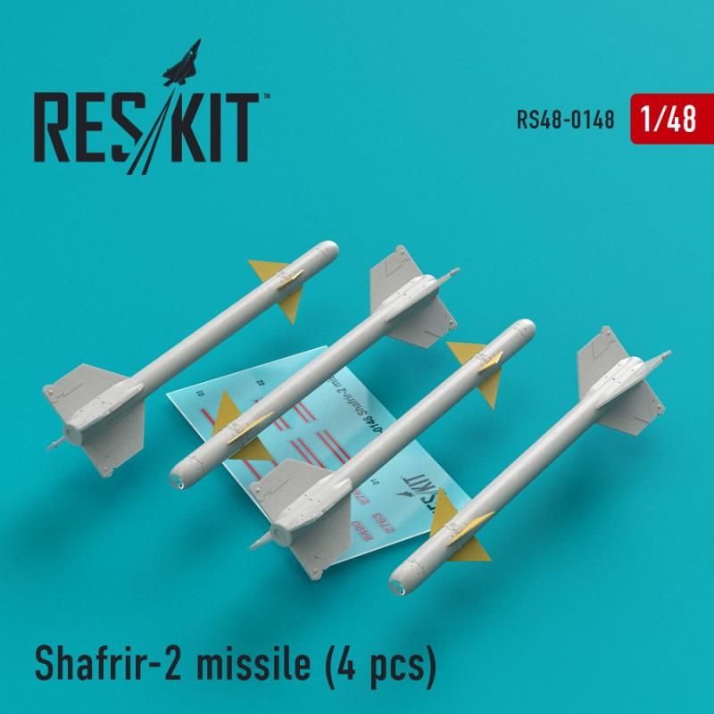 Shafrir-2 ракета (4 штуки) (1/48)