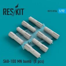 SAB-100 MN bomb (8 штук) (1/72)