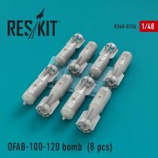 ОФАБ-100-120 бомба (8 штук) (1/48)