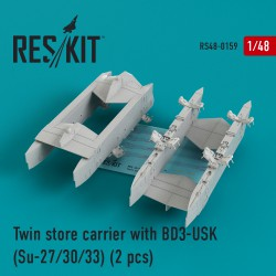 Twin store carrier with BD3-USK (2 штуки) (1/48)