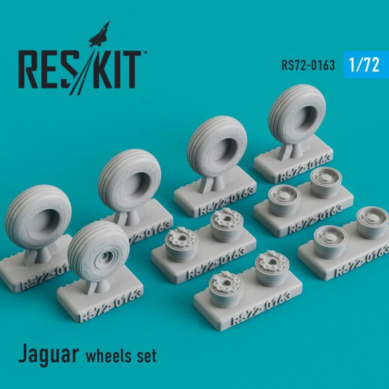 Sepecat Jaguar смоляные колеса (1/72)