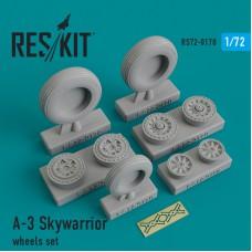 A-3 Skywarrior смоляные колеса (1/72)