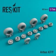 Airbus A319 смоляные колеса (1/144)