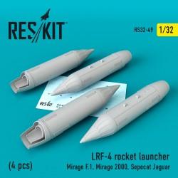 LRF-4 Блок Нурс (4 штуки) (1/32)