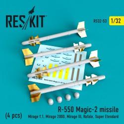 R-550 Magic-2 missile (4 штуки) (1/32)