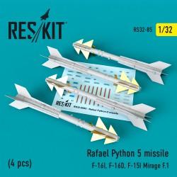 Rafael Python 5 missile (4 pcs) (1/32)