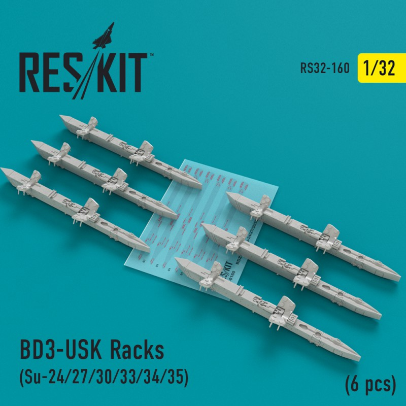 BD3-USK Racks (6 штук) (1/32)