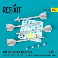 "AIM-9M ""Sidewinder"" missile (4 штуки)   (1/32)"