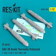 GBU 38 Bomb Thermally Protected (4 штуки) (1/32)