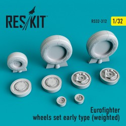 Eurofighter wheels Early Type (1/32) (weighted)
