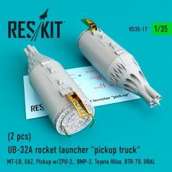 "UB-32A rocket launcher ""pickup truck"" (2 pcs) (1/35)"