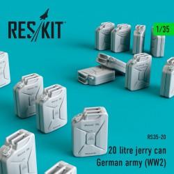 20 litre jerry can - German army (WW2) (1/35)