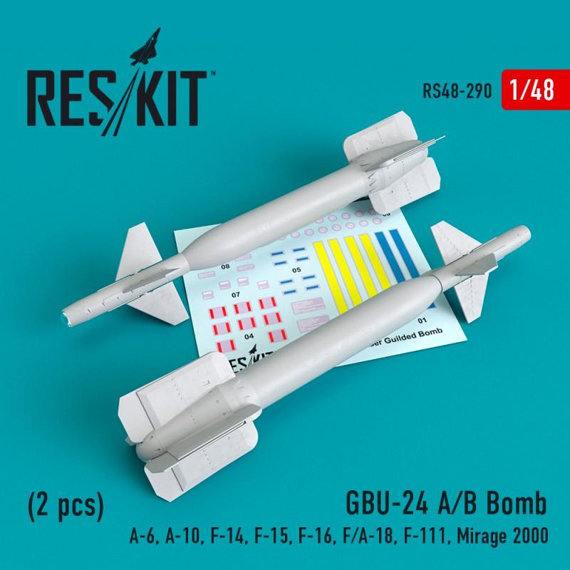 GBU-24 (A-B) Bomb (2 штуки) (1/48)