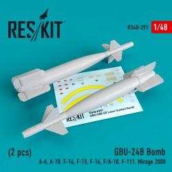 GBU-24 (B) Bomb (2 штуки)   (1/48)