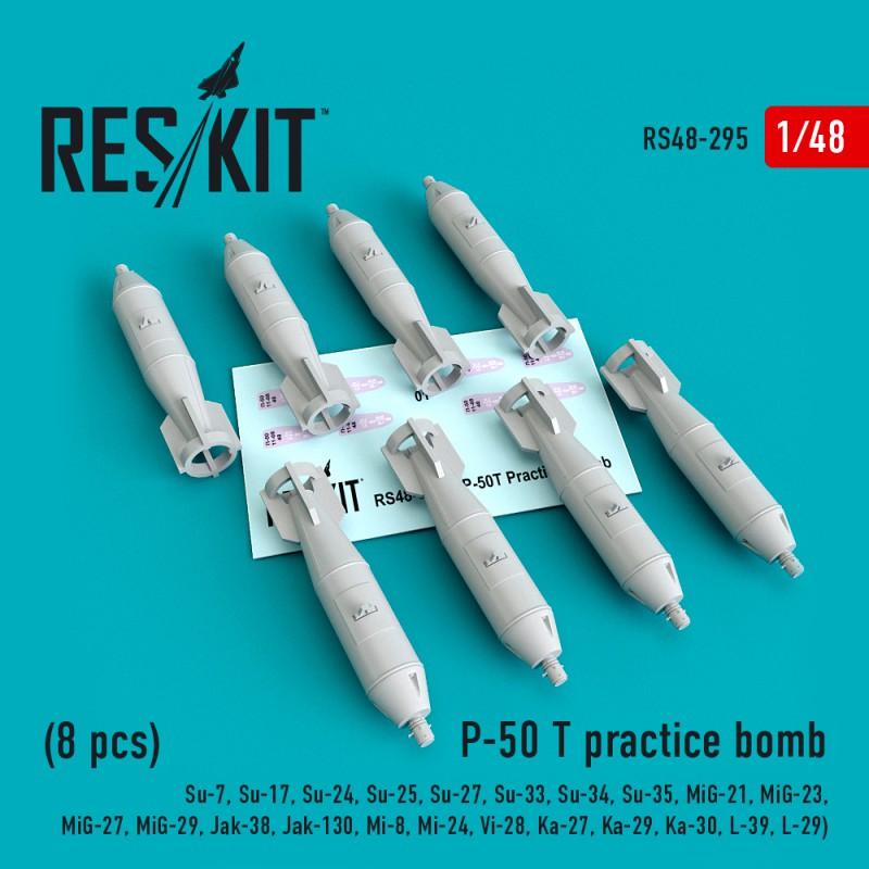 P-50 T practice bomb (8 штуки)  (1/48)