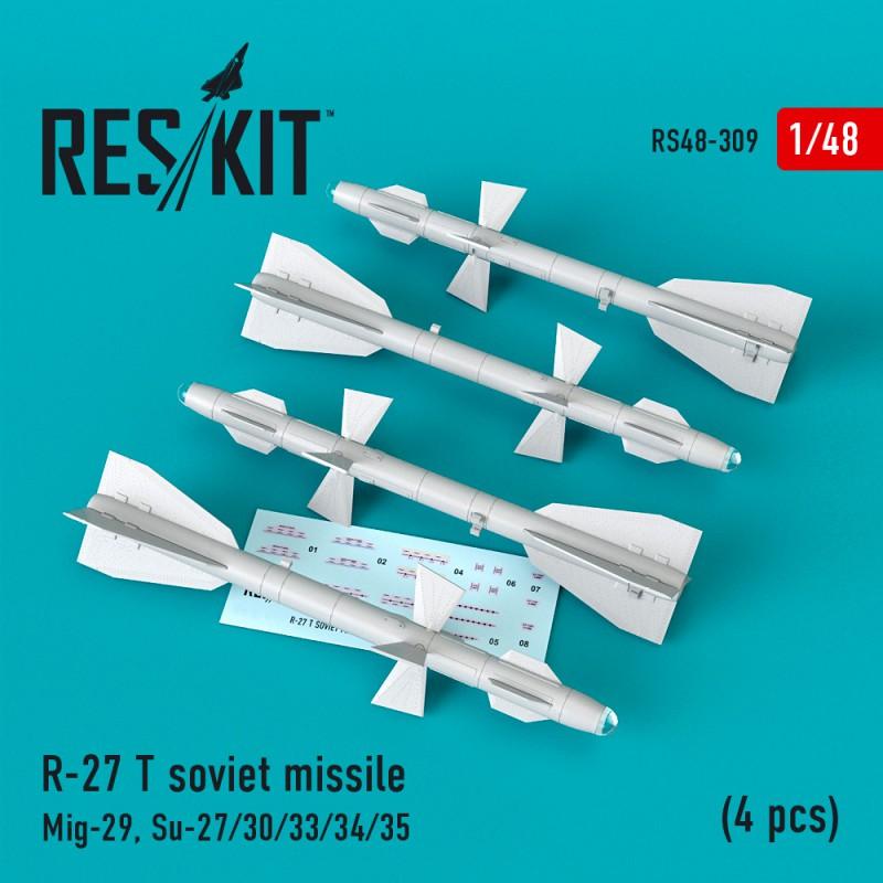 R-27 (T) авиационная ракета (4 штуки) (1/48)