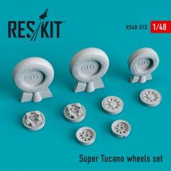 Super Tucano смоляные колеса (1/48)
