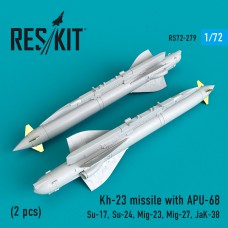 Kh-23 missile with APU-68 (2 штуки)   (1/72)