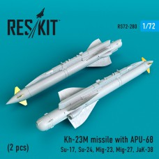 Kh-23M missile with APU-68 (2 штуки)   (1/72)