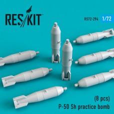 P-50 Sh practice bomb (8 штуки)  (1/72)