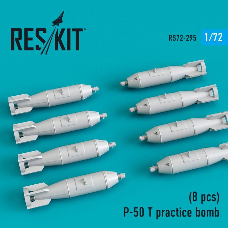 P-50 T practice bomb (8 штуки)  (1/72)