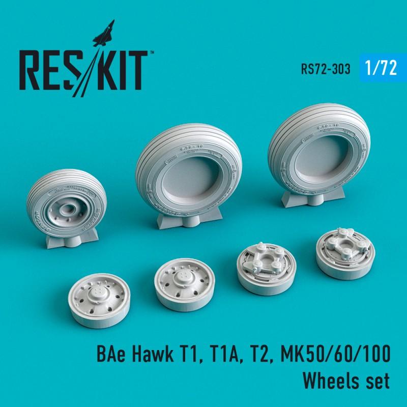 BAe Hawk T1, T1A, T2, MK50/60/100 смоляные колеса (1/72)
