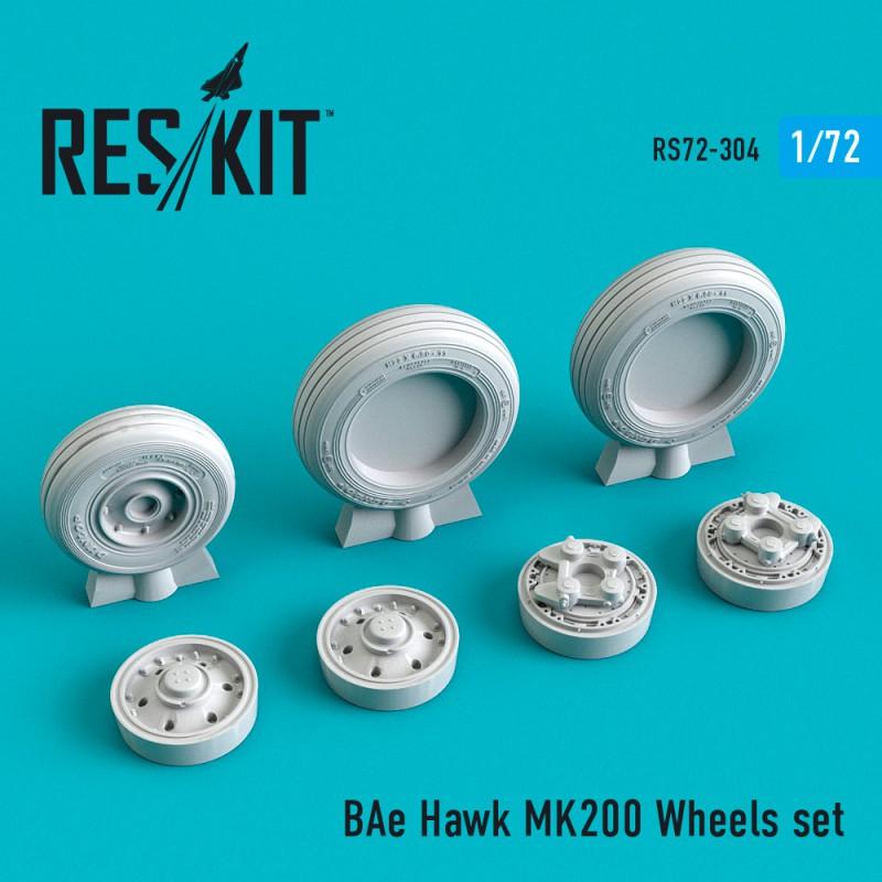 BAe Hawk MK200 смоляные колеса (1/72)