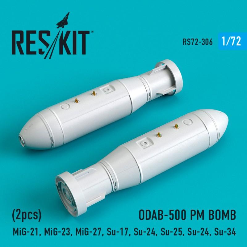 ODAB-500 PM BOMB (2 штуки)   (1/72)