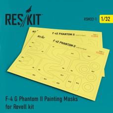 F-4 G Phantom II Painting Masks for Revell kit (1/32)
