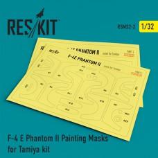F-4 E Phantom II Painting Masks for Tamiya kit (1/32)