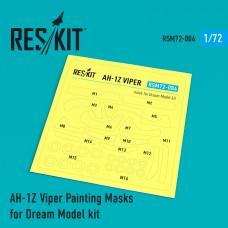 AH-1Z Viper Painting Masks for Dream Model kit (1/72)