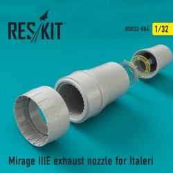 Mirage IIIE exhaust nozzle for Italeri  (1/32)