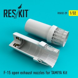 F-15 Eagle open exhaust nozzles for TAMIYA Kit (1/32)