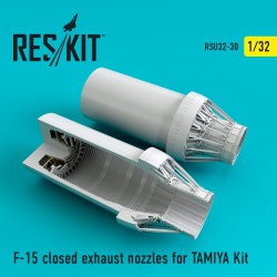 F-15 closed exhaust nozzles for  TAMIYA Kit (1/32)