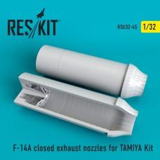 F-14A Tomcat closed сопла для набора TAMIYA (1/32)