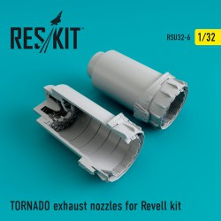 TORNADO exhaust nozzles for Revell Kit  (1/32)