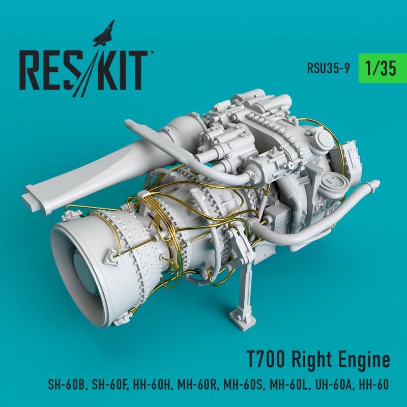 T700 Right  Engine (SH-60B, SH-60F, HH-60H, MH-60R, MH-60S, MH-60L, UH-60A, HH-60) (1/35)