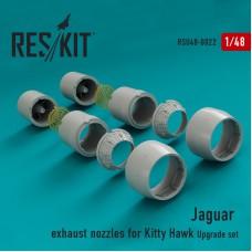 Jaguar сопла (для набора  Kitty Hawk) (1/48)