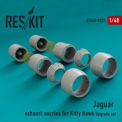 Jaguar сопла (для набора  Kitty Hawk) (1/48)