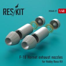 F-18 Hornet сопла (для набора Hobby Boss) (1/48)