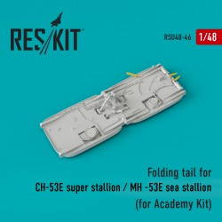 Folding tail for СH-53E super stallion / MH -53E super stallion (for Academy Kit)  (1/48)