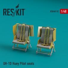 UH-1D Huey Pilot seats (1/48)