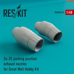 Su-35 parking position сопла для набора Great Wall Hobby Kit (1/48)
