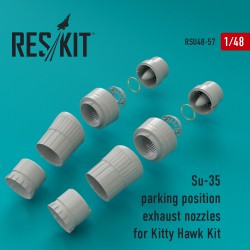 Su-35 parking position сопла для набора KITTY HAWK Kit (1/48)