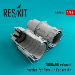 TORNADO exhaust nozzles for Revell / Eduard Kit (1/48)