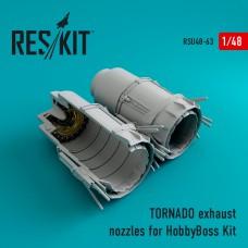 TORNADO exhaust nozzles for HobbyBoss Kit (1/48)